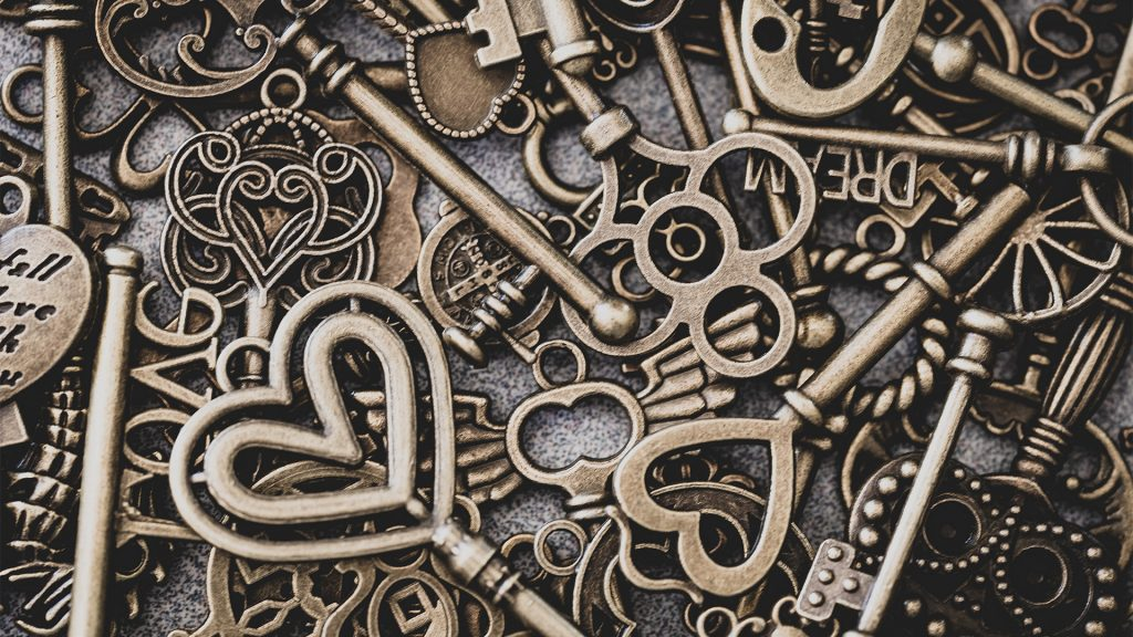 a collection of keys