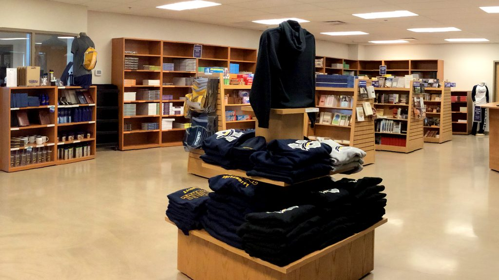 Bookstore interior
