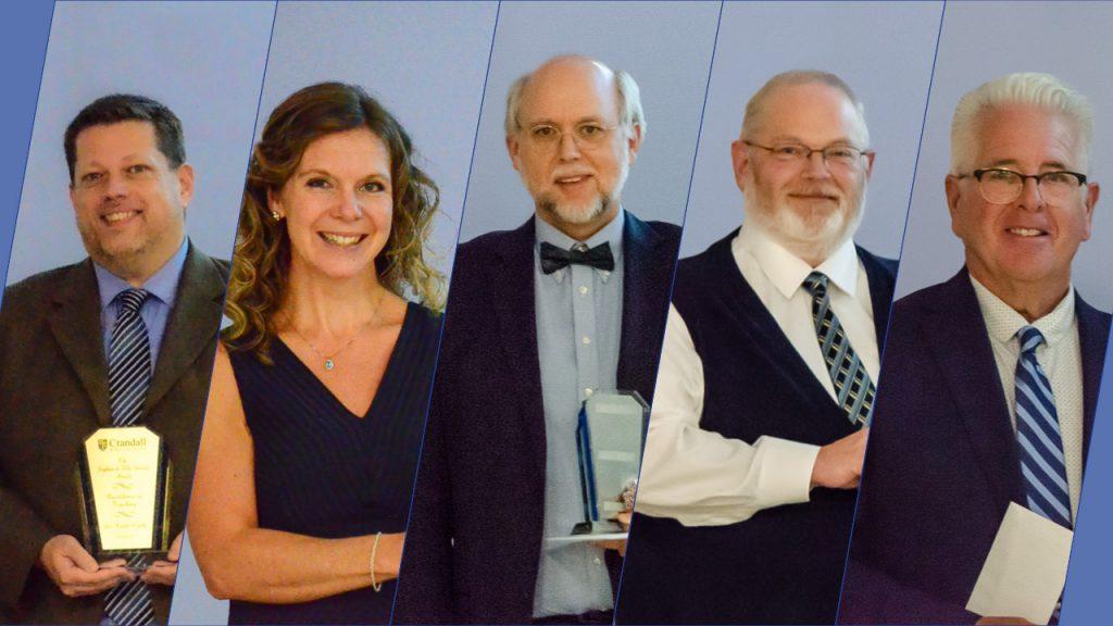 2020 Faculty awards recipients