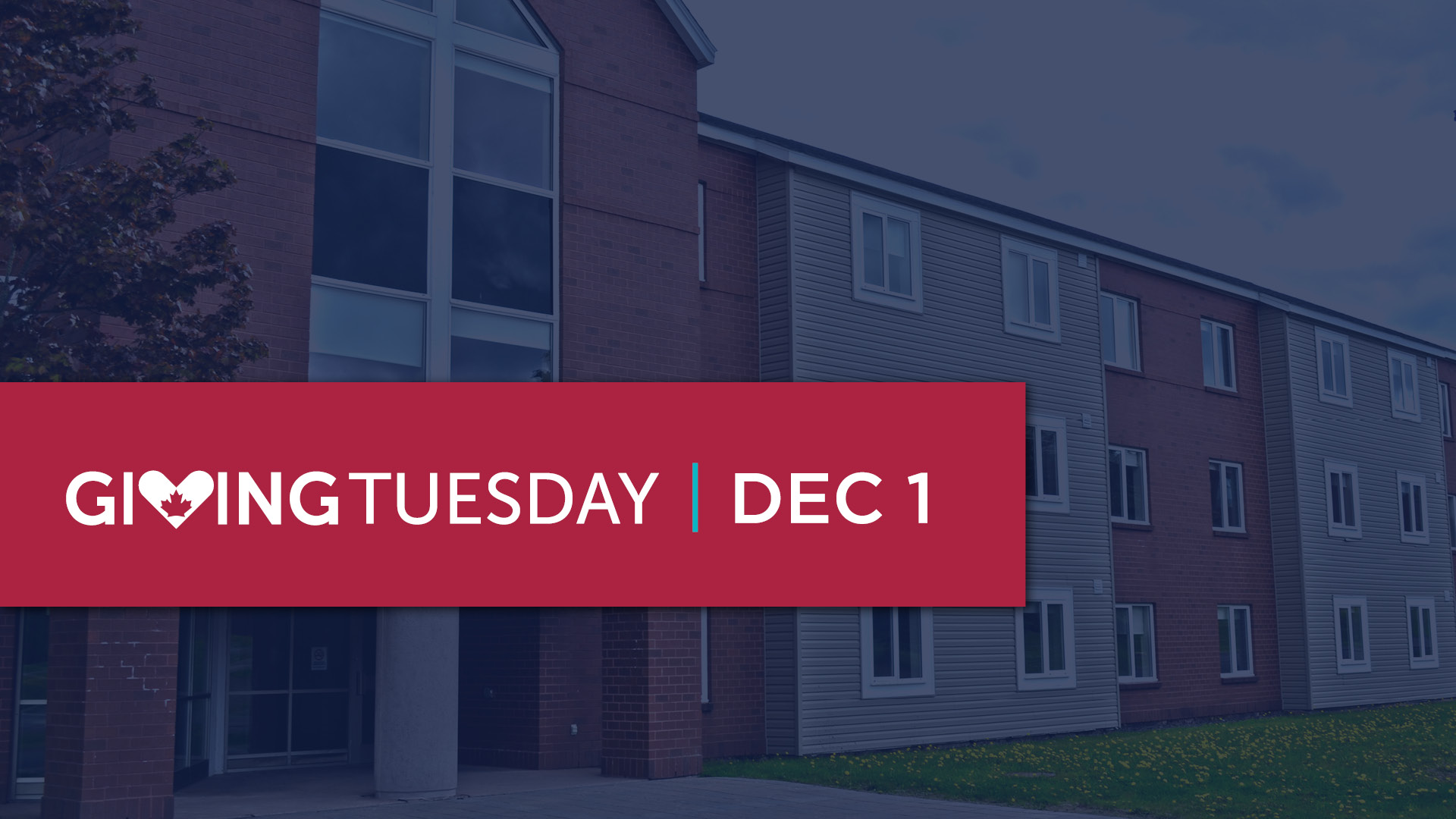 Giving Tuesday: Dec 1, 2020