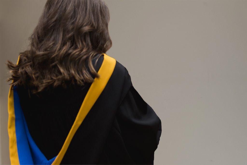 Crandall U Bachelor of Arts Graduate