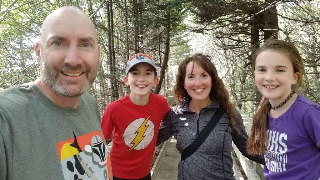 Trevor Jones and family