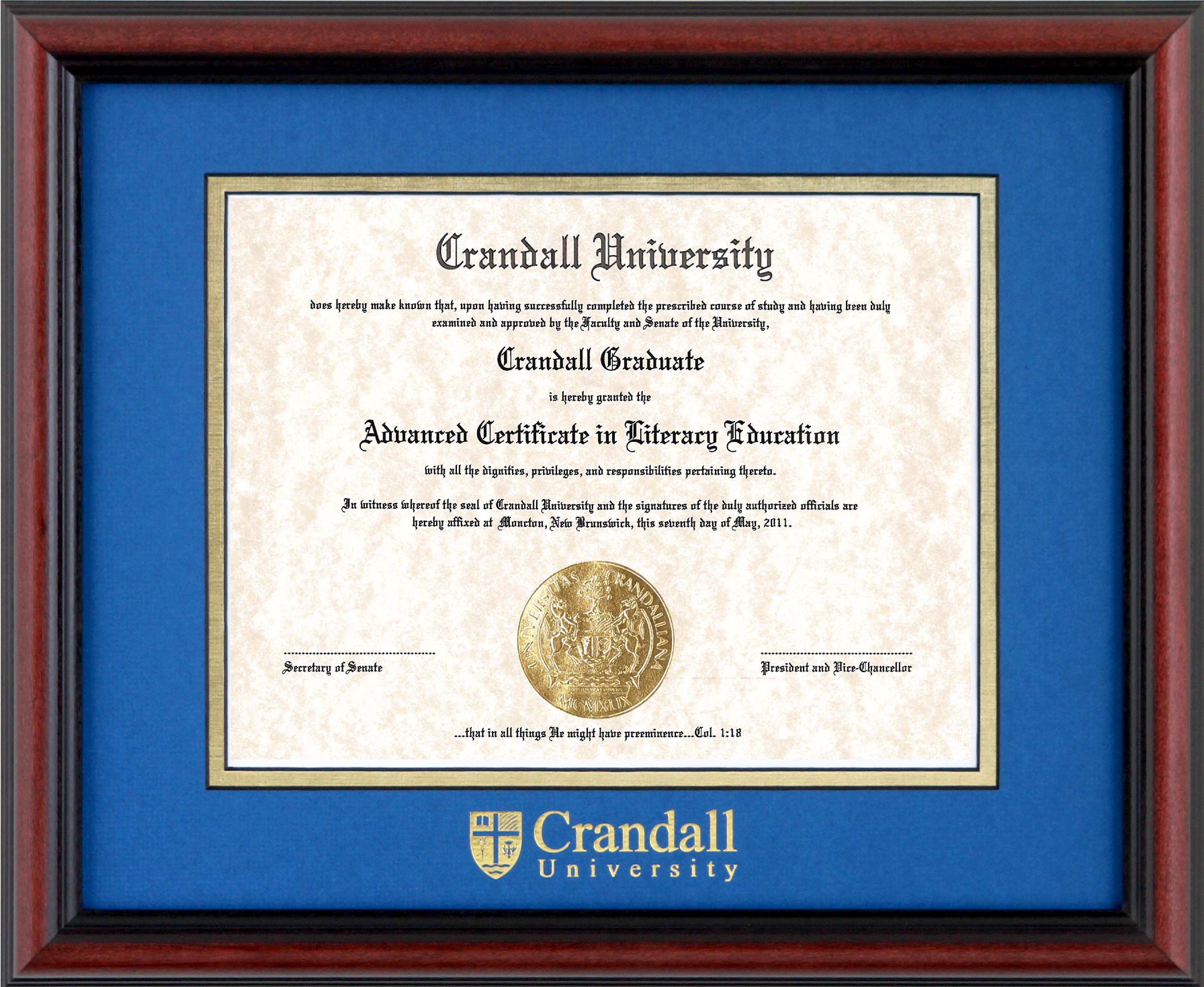 Alumni services crandall university weve partnered with tempo to bring you frames that are made in canada eco friendly and fair labour compliant frames are available for purchase in the solutioingenieria Image collections