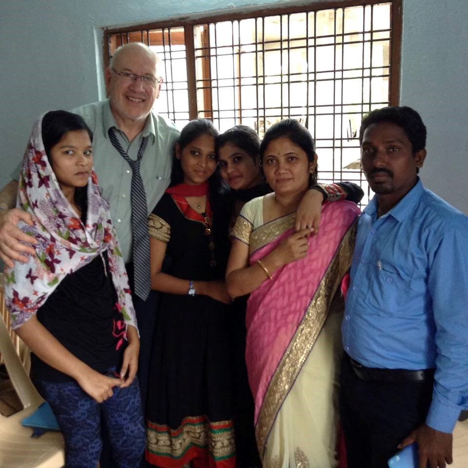 Crandall Professor Visits Ministry in India - Crandall