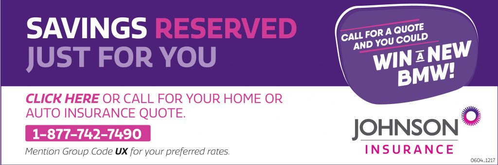 Savings reserved just for you - Johnson Inc.