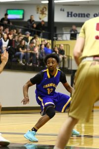 Brandon Fields on the Court at the ACAA Championship
