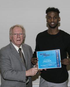 Hassan Maidal Receiving ACAA Award