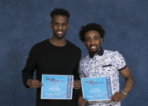 ACAA Award Recipients Brandon Fields and Hassan Maidal