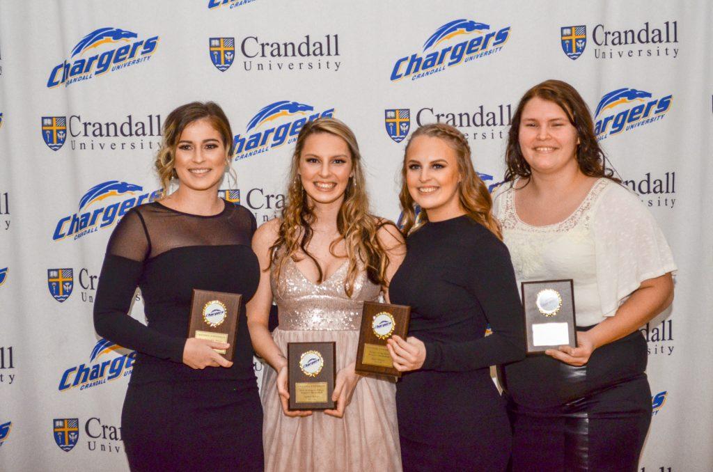 Women's Basketball 2018 Award Recipients