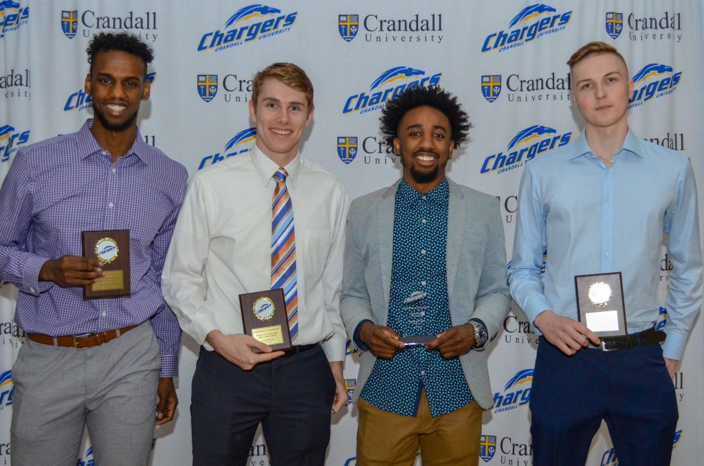 Men's Basketball 2018 Award Recipients