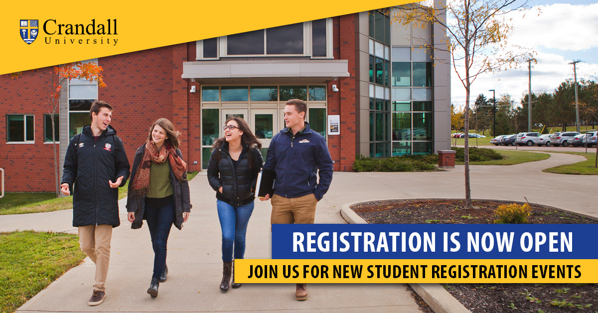 Registration is Now Open - Join Us for New Student Registration Events