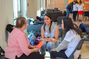 Education Students meet with retired teachers in Human Library