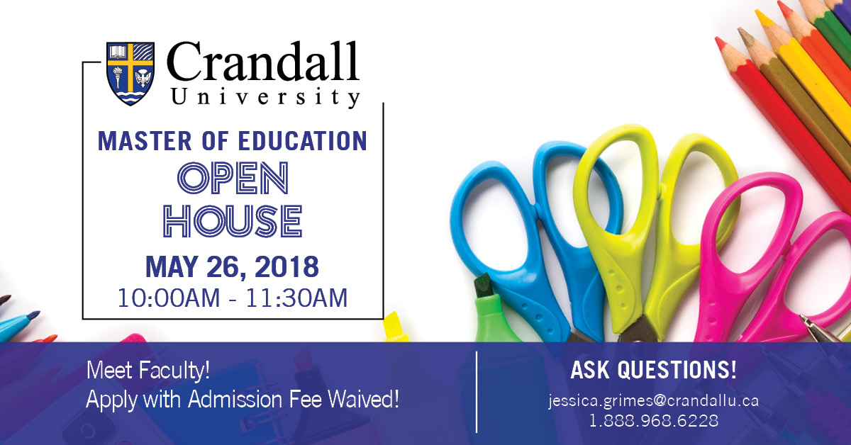 Master of Education Open House