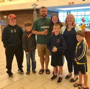 Wayne Murphy and Family