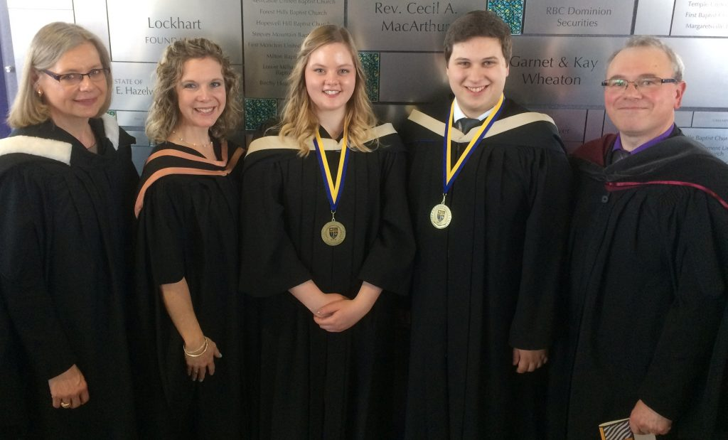 Faculty of Business Gold Medal Winners