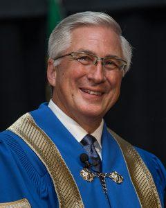 Chancellor Don Simmonds