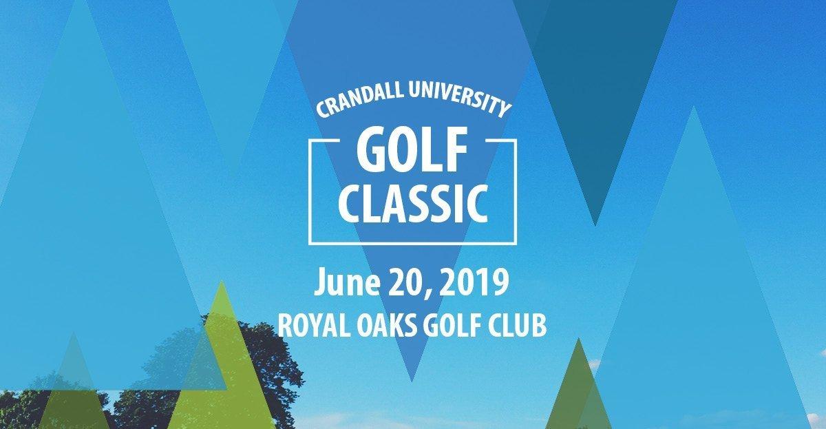 2019 Crandall University Golf Classic, June 20, 2019 at Royal Oaks Golf Club
