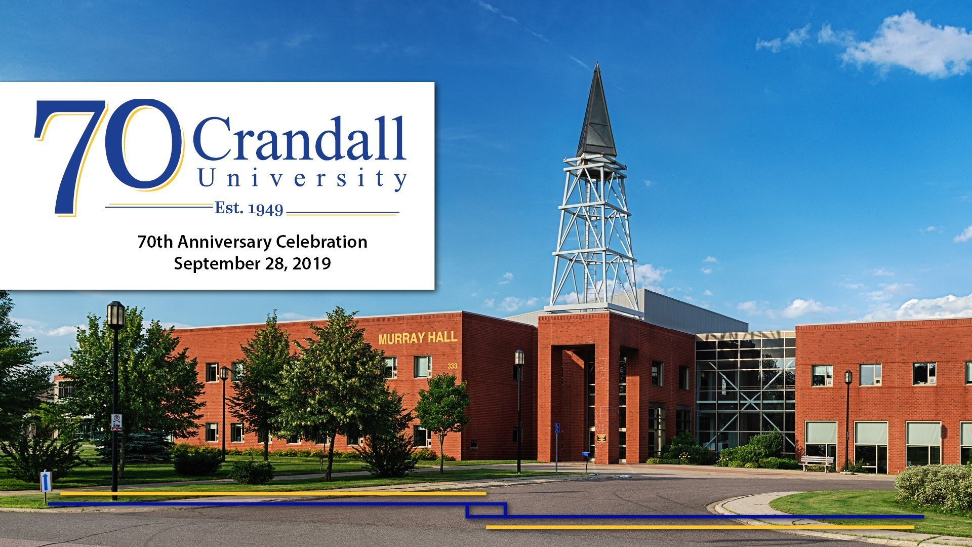 Crandall University 70th Anniversary Celebration