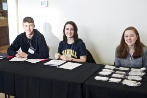 Student Volunteers at Science Atlantic Conference