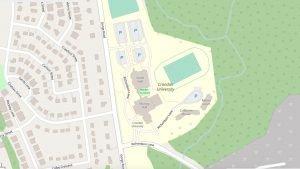 Crandall Street Map