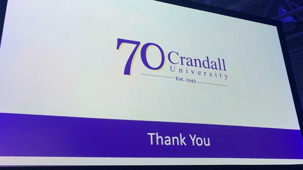 Crandall's 70th Anniversary