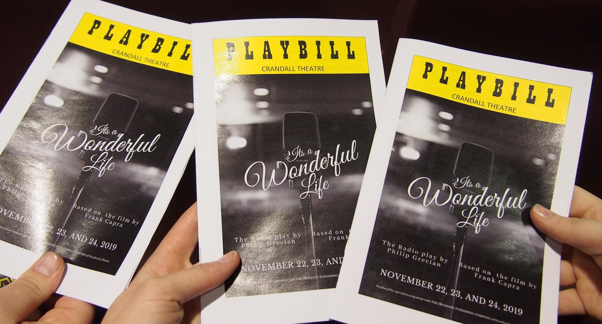 Playbills from Crandall Theatre