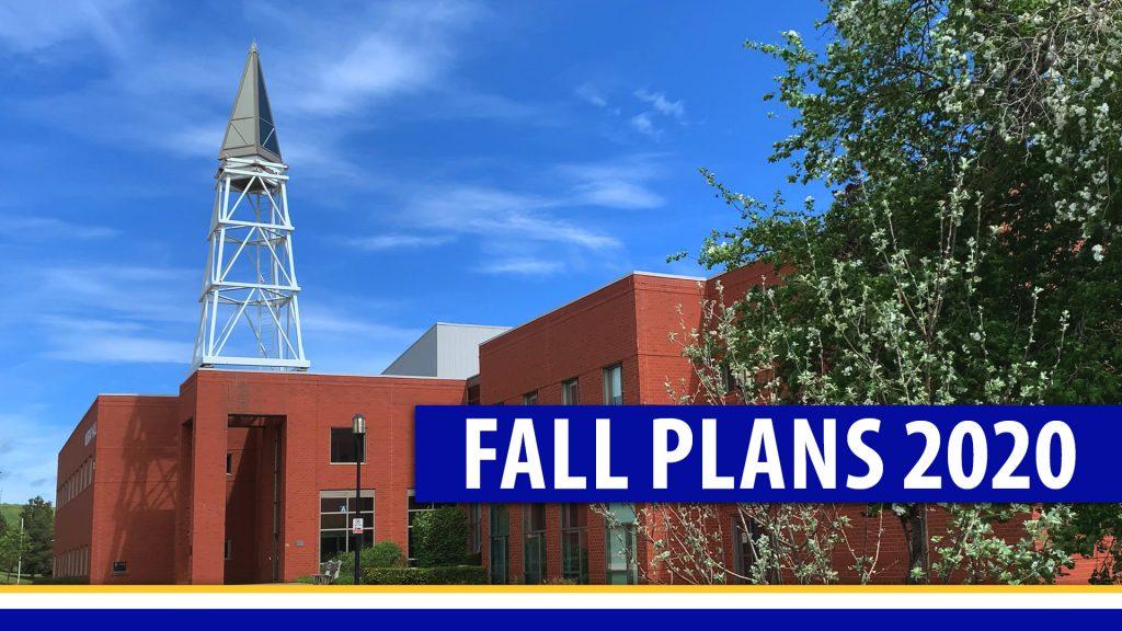 Fall Plans 2020